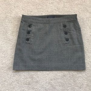 NEW Banana Republic tweed mini-skirt - Size 6.
